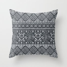Grand Bazaar - Midnight Throw Pillow
