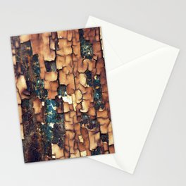 Peeling Paint Texture Stationery Cards