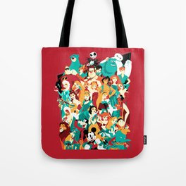 Mouse House Heroes Tote Bag