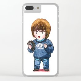 Liam Gallagher with his Tambourine Clear iPhone Case