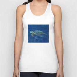 sea turtle  Unisex Tank Top