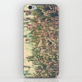 Retro Spring Wildflowers iPhone Skin