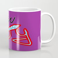 urban Mugs featuring urban by daniel