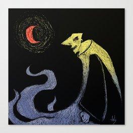Dark Nightmare Canvas Print