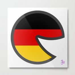 Germany Smile Metal Print