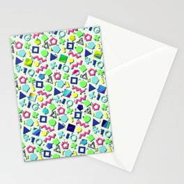 Totally 80s Pattern Stationery Cards