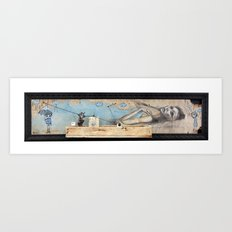 triarchy of the lost lovers Art Print
