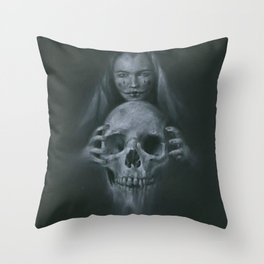 Black Magic Throw Pillow