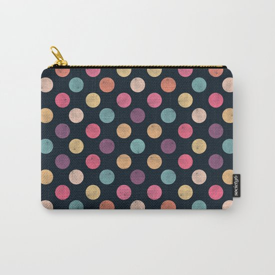 Watercolor Dots Pattern II Carry-All Pouch
