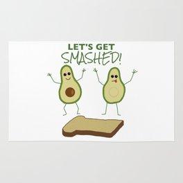 Let's Get Smashed! Rug