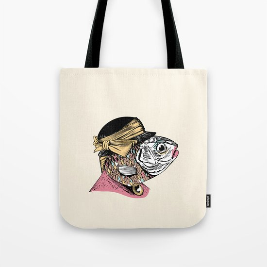 Mrs. Fish Tote Bag