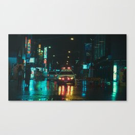 Tokyo Nights / Kiss Land II / Blade Runner Vibes  / Liam Wong Canvas Print