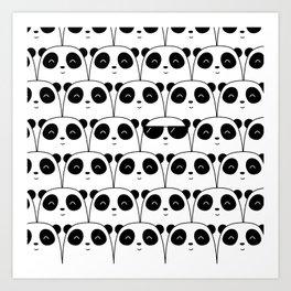That Cool Panda Art Print