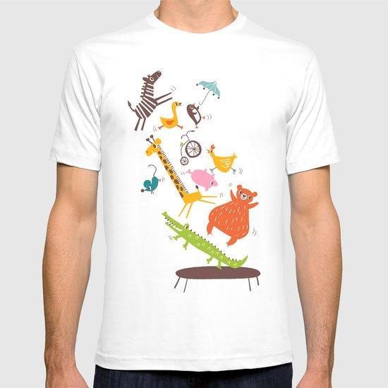 trampolinists T-shirt