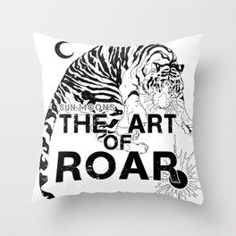 THE ART OF ROAR Throw Pillow