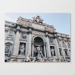 Trevi Fountain / Rome, Italy Canvas Print