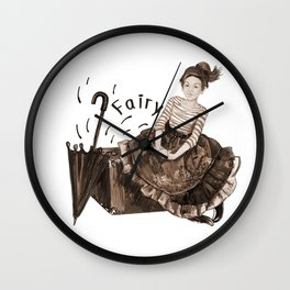 Fairy for Your Wishes Wall Clock