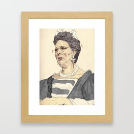Anne, Queen of Great Britain Framed Art Print