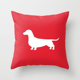 Dachshund (Wiener Dog) Throw Pillow