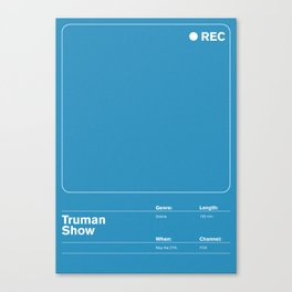 Truman Show Canvas Print