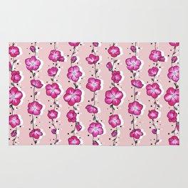 Raspberry Crush Wildflower Rug