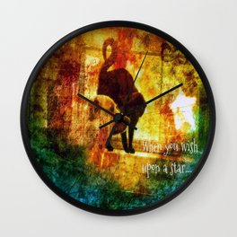 Wishes Duo Wall Clock