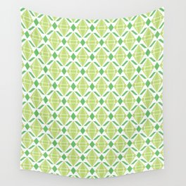 Abstract [GREEN] Emeralds Wall Tapestry