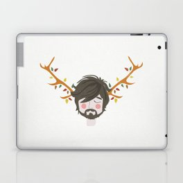 The Man With The Antlers Laptop & iPad Skin