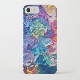 Aurora Swirls iPhone Case