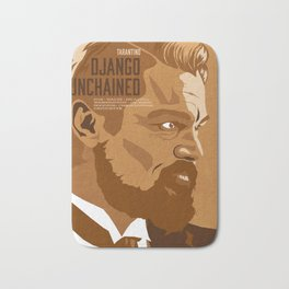 Quentin Tarantino's Plot Movers :: Django Unchained Bath Mat