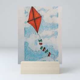 Go Fly a Kite Mini Art Print