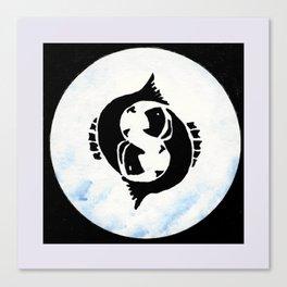 Pisces - Zodiac sign Canvas Print