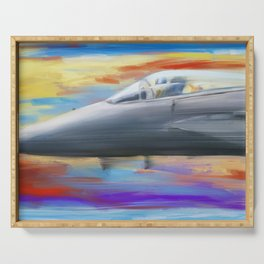 Jetfighter speed Serving Tray