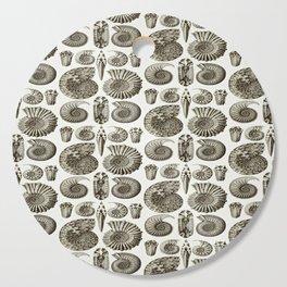 Ernst Haeckel Ammonitida Ammonite Cutting Board
