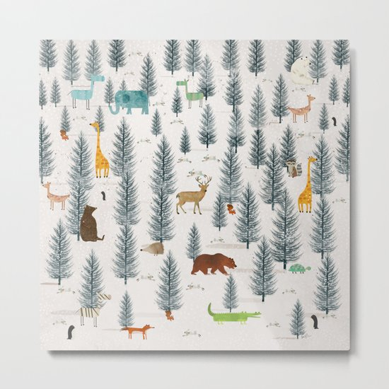 little nature Metal Print
