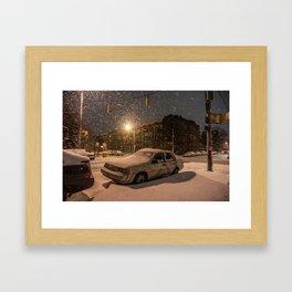 Janus vs. Baltimore Framed Art Print