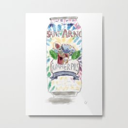 Saint Arnold Metal Print