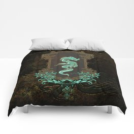 Awesome chinese dragon Comforters
