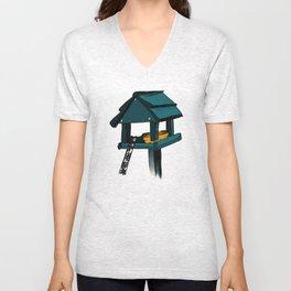 Bird House Unisex V-Neck