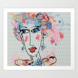 Peppa Art Print