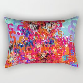Superhero Type Art Comics Spider Rectangular Pillow
