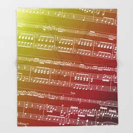Concerto for Double Bass Throw Blanket