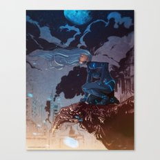 Eve on Roof Canvas Print