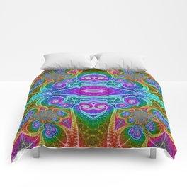 BBQSHOES: Fractal Math Art #1449 Comforters