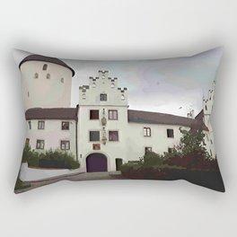 Schloss Kronwinkl in Niederbayern Rectangular Pillow