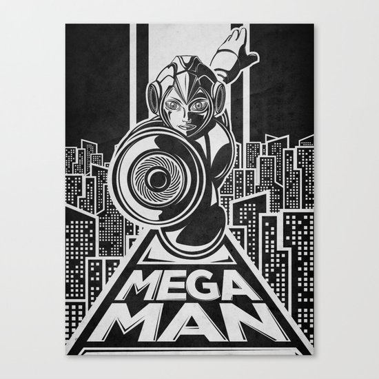 Megaman. In the year 20xx Canvas Print