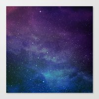 universe Canvas Prints featuring Universe by Space99