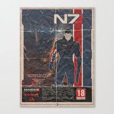 Mass Effect 3 Canvas Print