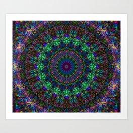 Mandala Sae Art Print