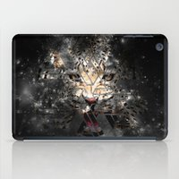 space cat iPad Cases featuring Space Cat by Nyx Illustration and Design